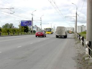 ул. К. Мяготина, мост в Энергетики_рекламныее щиты, биллборд...