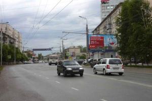 ул. К. Мяготина, подъезд к Дому быта_биллборды (рекламные щи...