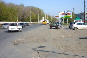 Первомайский рынок Заозерный, 3 мкр., д.1_рекламные щиты, би...