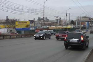 пр. Машиностроителей, въезд на Некрасовский мост_биллборды (...