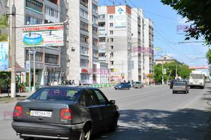 ул. К. Мяготина, 129, перекресток с ул. Володарского_биллбор...
