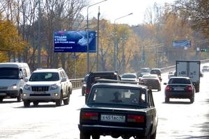 Шоссе Тюнина, поворот на Керамзитный_рекламные щиты, биллбор...