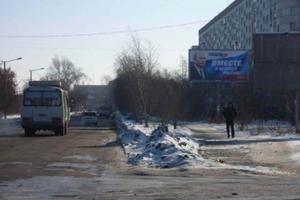 ул. Половинская, у ТЦ Ежевика_биллборды (рекламные щиты 6х3)