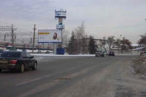 ул. Станционная у Пригородного вокзала_биллборды (рекламные ...