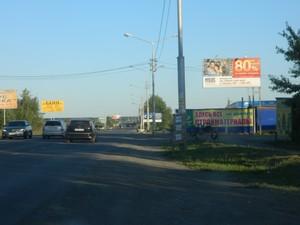 Шоссе Тюнина у строительного рынка_биллборды (рекламные щиты...