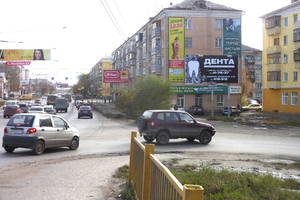ул. Пролетарская, 67_рекламныее щиты, биллборды 6х3