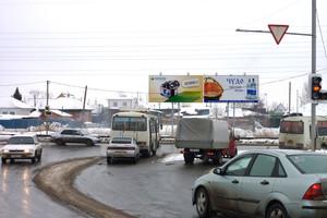 Галкинский переезд ул. - Мостостроителей ул. (щит 6х3)