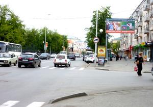 """ул. Гоголя, 36 (у магазина """"Села"""")_рекламные щиты, биллборды..."""