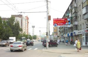 ул. Куйбышева, 76_рекламные щиты, биллборды 6х3